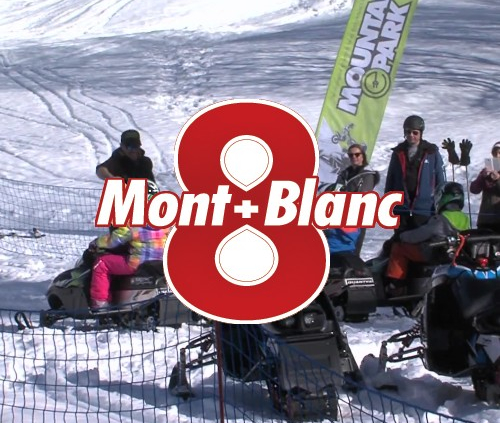 Les modes de transports électriques : la motoneige pour les enfants chez Mountain E-Park