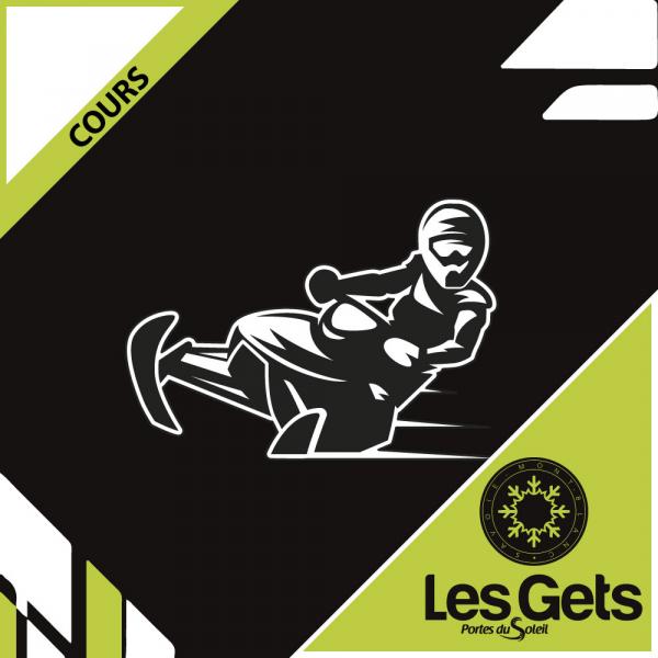 Cours motoneige Les Gets