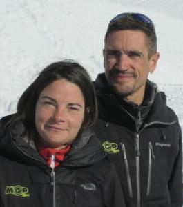 Edwige et Jérémy de la société Mountain E-Park