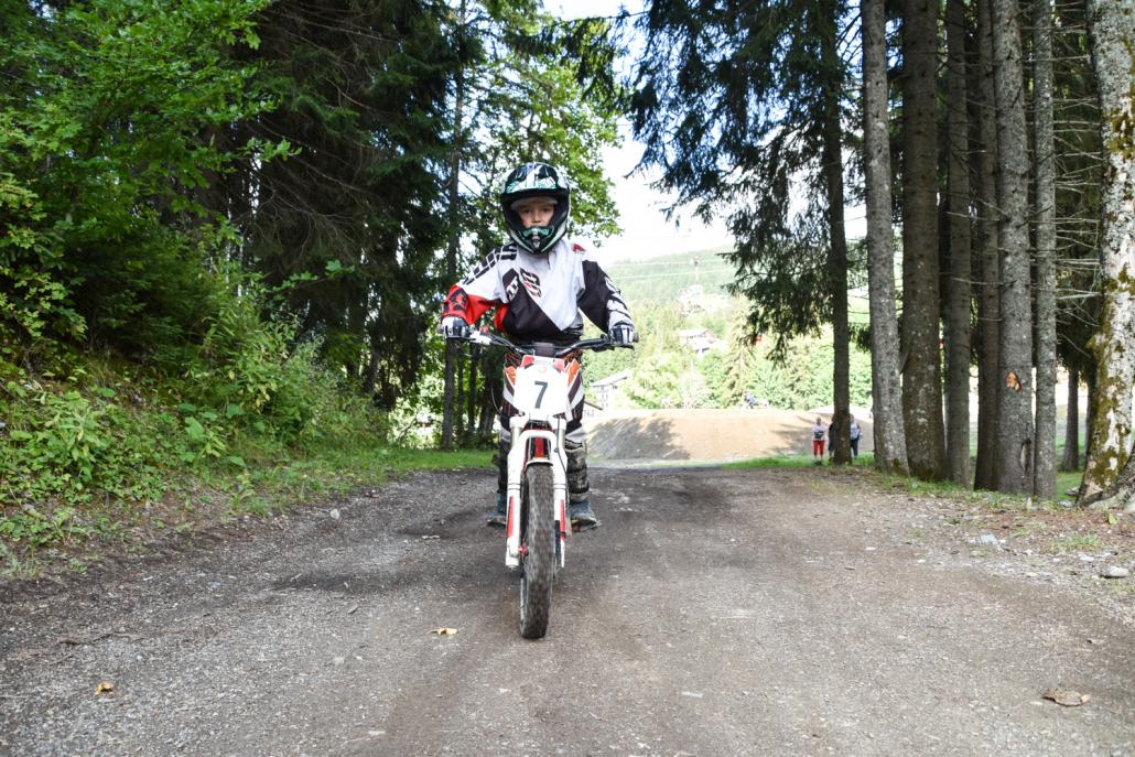 La moto trial c'est génial !