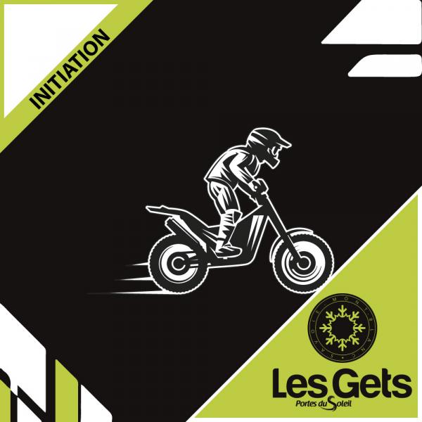 Initiation moto trial/quad Les Gets