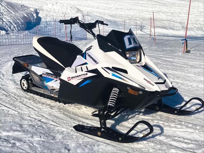 Les motoneiges conçues avec Quantya à Avoriaz