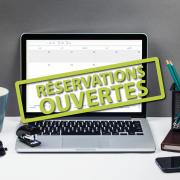 Ouverture des réservations en ligne !