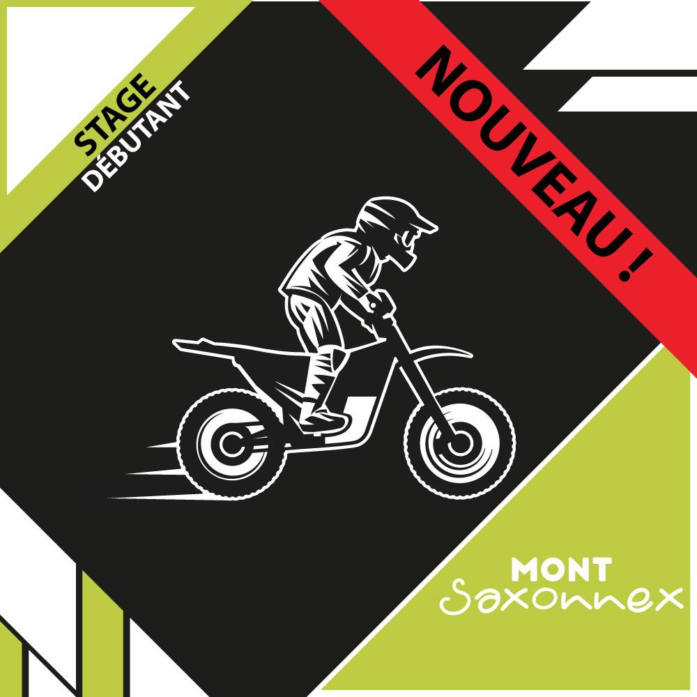 NOUVEAU : Stage débutant moto - Mont Saxonnex