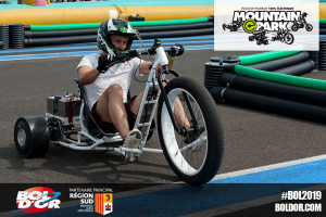 Drift-trike au Bol d'Or 2019