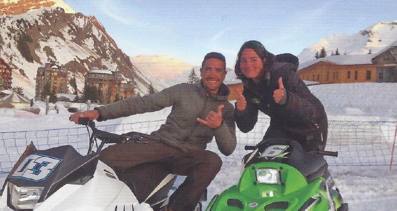 Edwige & Jérémy, fondateurs Mountain E-Park