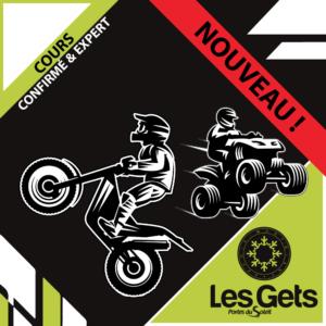 Cours confirmé et expert - Moto trial/quad - Les Gets