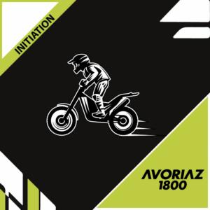 Initiation moto trial à Tignes