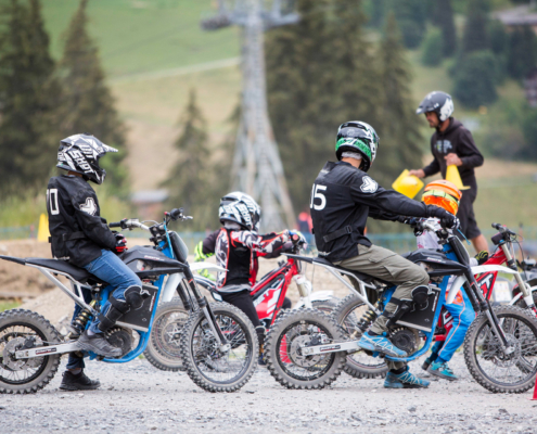 Session motocross au cours de ce bel été 2020