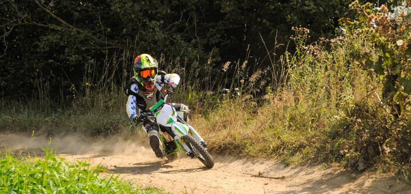 Motocross HVR pour les enfants (jusqu'à 15 ans)