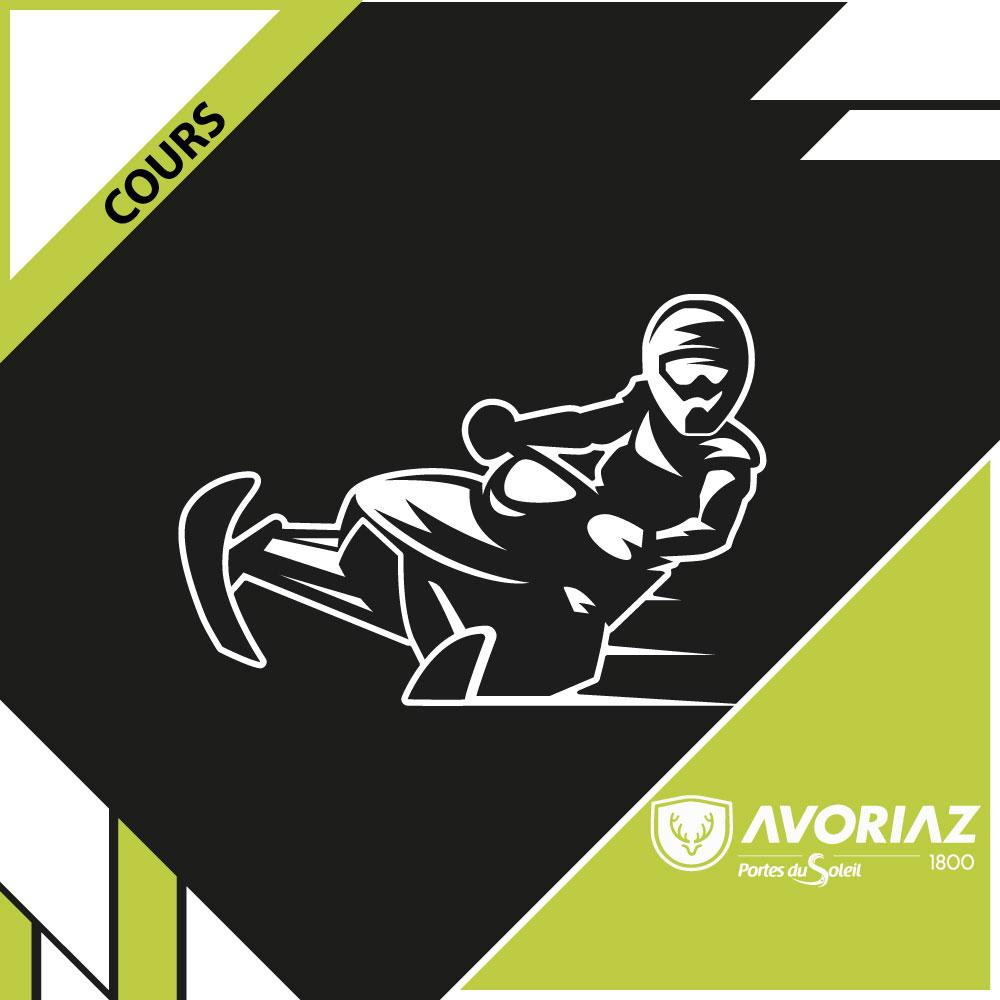 Cours motoneige - Avoriaz