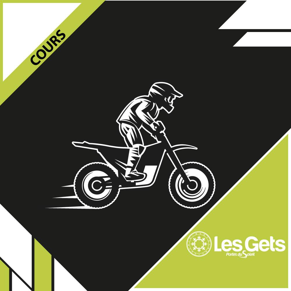 Cours moto - Les Gets