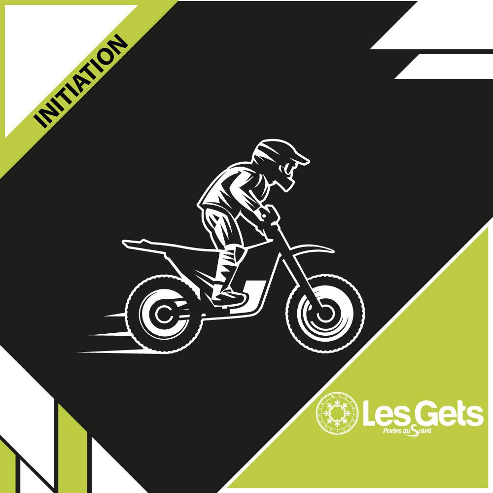 Initiation moto - Les Gets