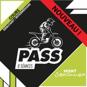 NOUVEAU : PASS 8 séances moto (débutant/intermédiaire) - Mont Saxonnex