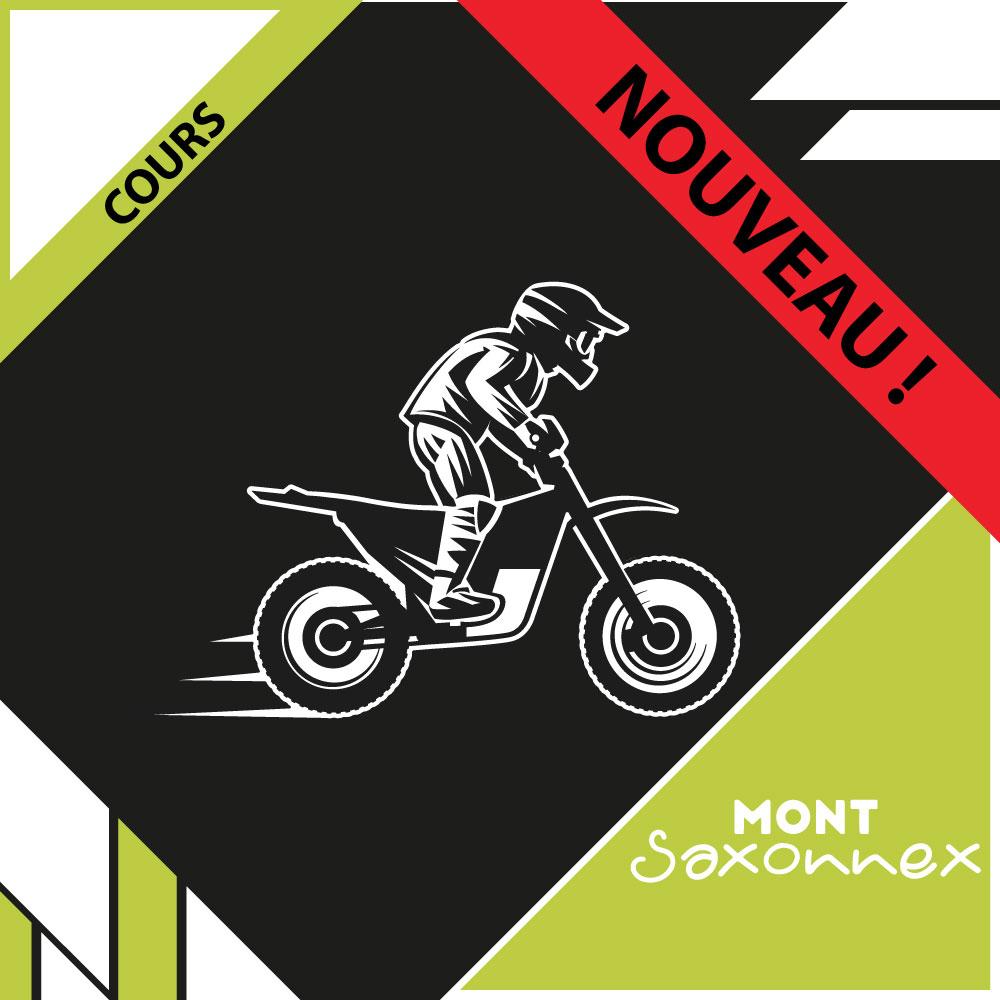 NOUVEAU : Cours moto - Mont Saxonnex