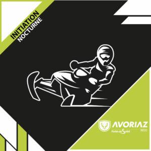 Initiation motoneige nocturne - Avoriaz